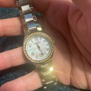 Fossil Jewelry - 💎⏱Fossil Watch Crystals, Mother of Pearl⏱💎